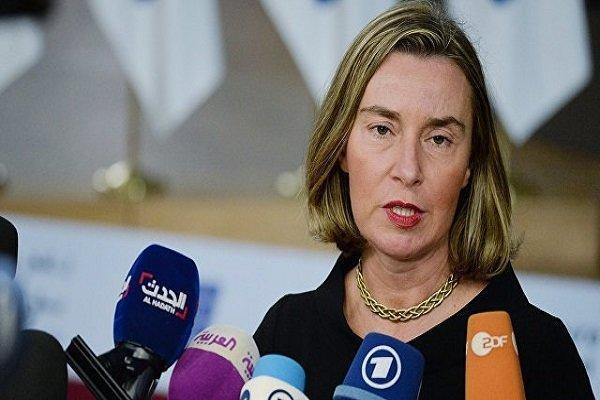 موگرینی: اروپا از برجام حمایت می نماید