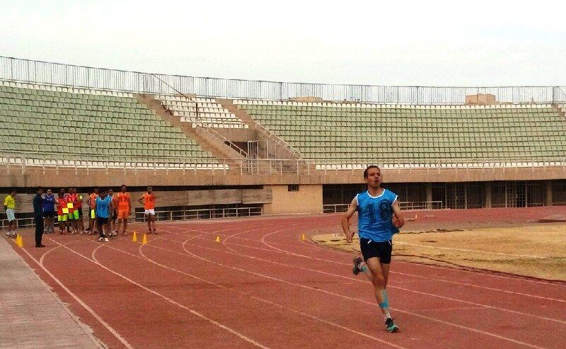 خبرنگاران 43 داور و یاری داور فوتبال یزد در آزمون آمادگی جسمانی شرکت کردند