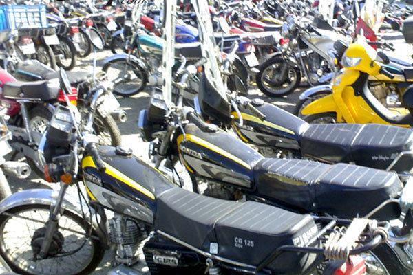 شروع طرح ساماندهی موتورسیکلت ها در خیابان جمهوری تهران