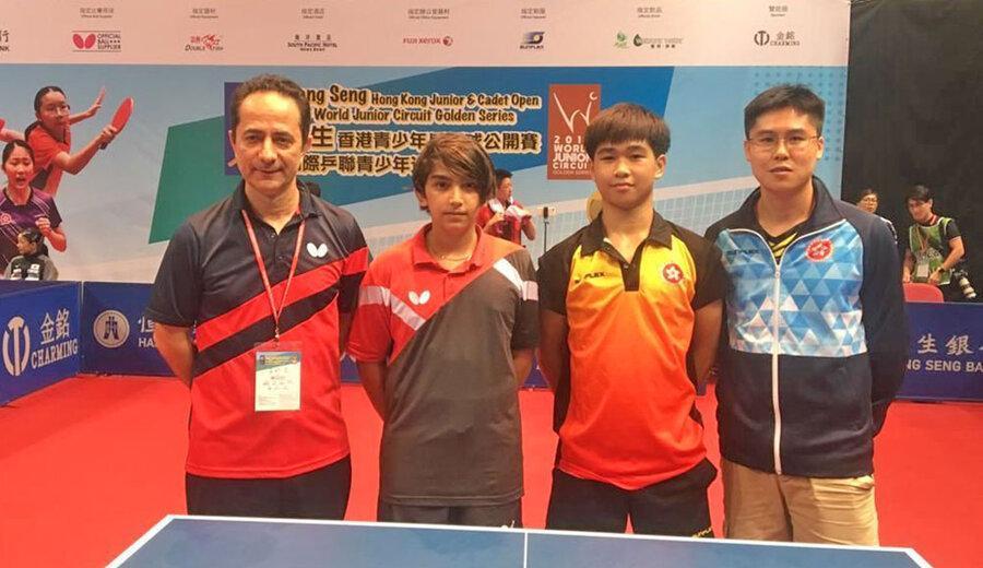 تنیس روی میز گلدن سری؛ مدال طلا برای نوجوان ایرانی و مدال برنز برای جوان ایرانی