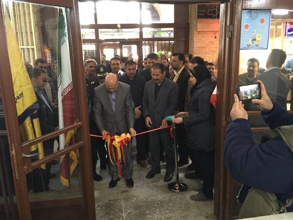 افتتاح اولین باجه تخصصی خدمات پستی کشور در حوزه صنایع دستی در اصفهان