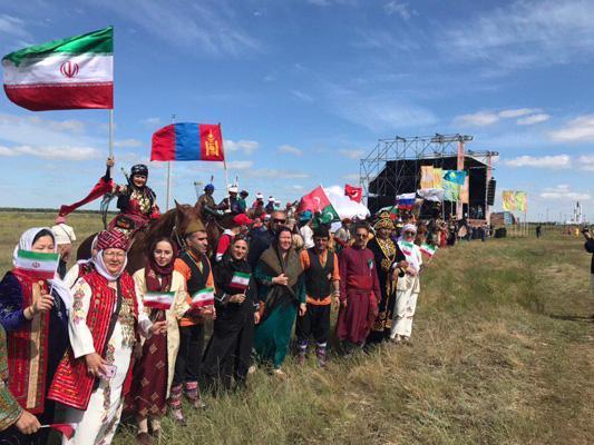 حضور هنرمندان استان گلستان در جشنواره بین المللی عشایر قزاقستان