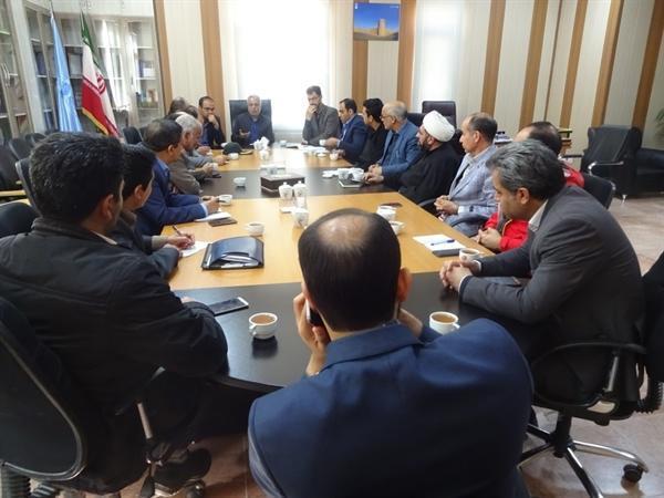 برگزاری اولین جلسه ستاد هماهنگی خدمات سفر شهرستان بشرویه ویژه نوروز 1398