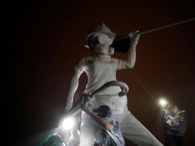ادامه درگیری های خونین در هنگ کنگ