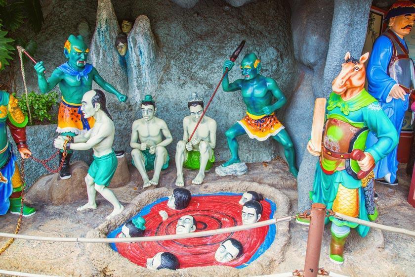 ده طبقه جهنم و بهشت در آیین بودا، در مجموعه گردشگری گنتینگ مالزی