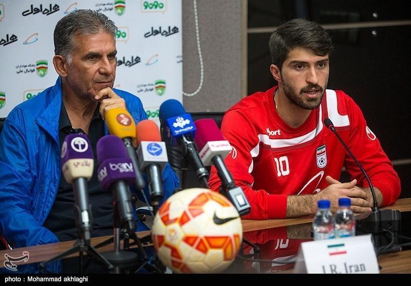 انصاری فرد: دیدار با عمان سخت است، می خواهیم به طرفداران هدیه بدهیم