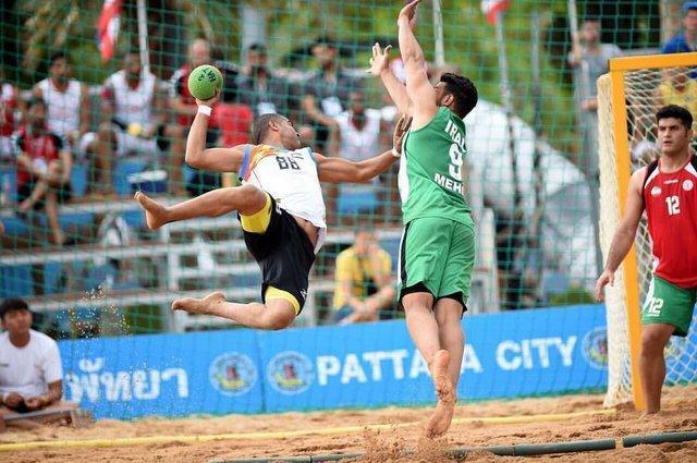 افتخاری: تیم ملی هندبال ساحلی بازی های منطقی ارایه کرد