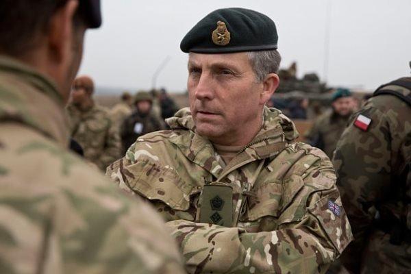 هشدار رئیس ستاد مشترک ارتش انگلیس درباره شروع جنگ جهانی سوم