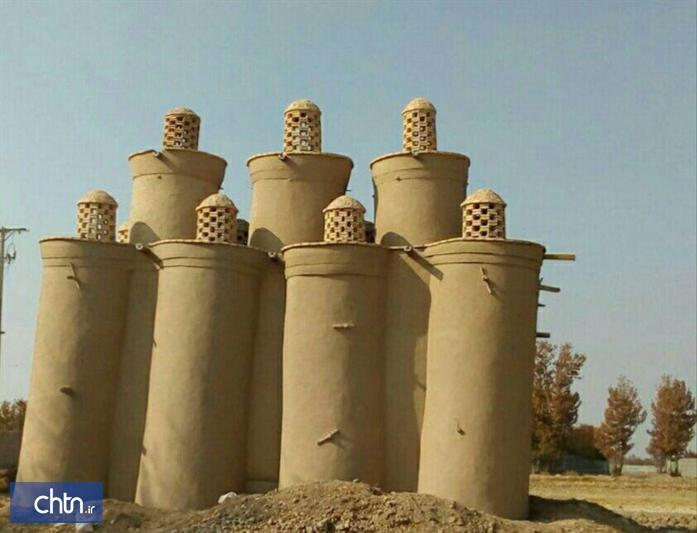 سرانجام عملیات مرمت برج کبوترخانه اجگرد در فلاورجان