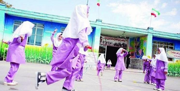 ششمین دوره المپیاد ورزشی درون مدرسه ای افتتاح شد
