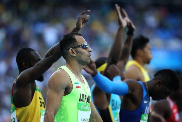 صعود قاسمی به فینال دوی 60 متر بازی های ساحلی آسیا