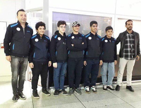 پیروزی شطرنج بازان نوجوان ایران مقابل هنگ کنگ ، ایران در رده دوم