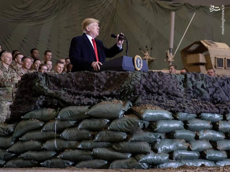 جزئیاتی از سفر مخفیانه ترامپ