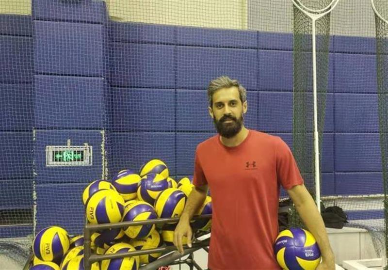 لیگ والیبال چین، تمرینات بایک موتورز تحت تاثیر حضور سعید معروف
