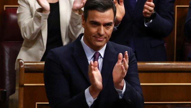 رای مثبت مجلس اسپانیا به نخست وزیری پدرو سانچز