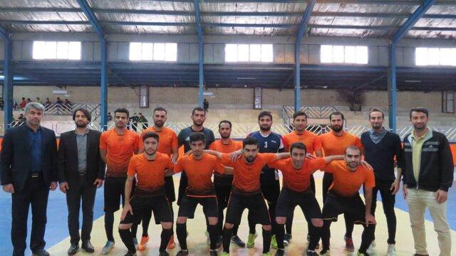 قهرمانی زود هنگام کشاورز گتوند در لیگ برتر فوتسال خوزستان