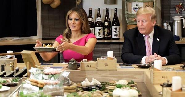 رژیم غذایی خاص ملانیا ترامپ بدون حذف شکلات و فست فود