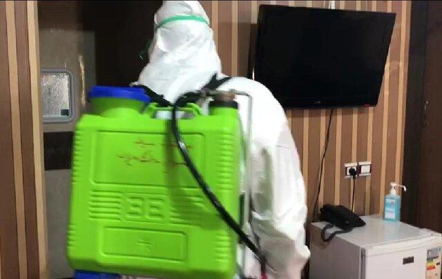 اطرافیان دو بیمار فوت شده مبتلا به کرونا قرنطینه می شوند