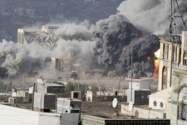 24 حمله هوایی جنگنده های ائتلاف سعودی به الجوف و صعده در یمن