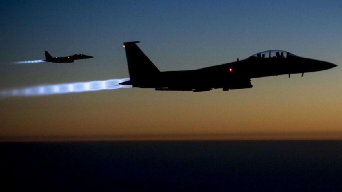خبرنگاران حشد الشعبی: حمله به بوکمال سوریه توسط ائتلاف آمریکایی انجام شد