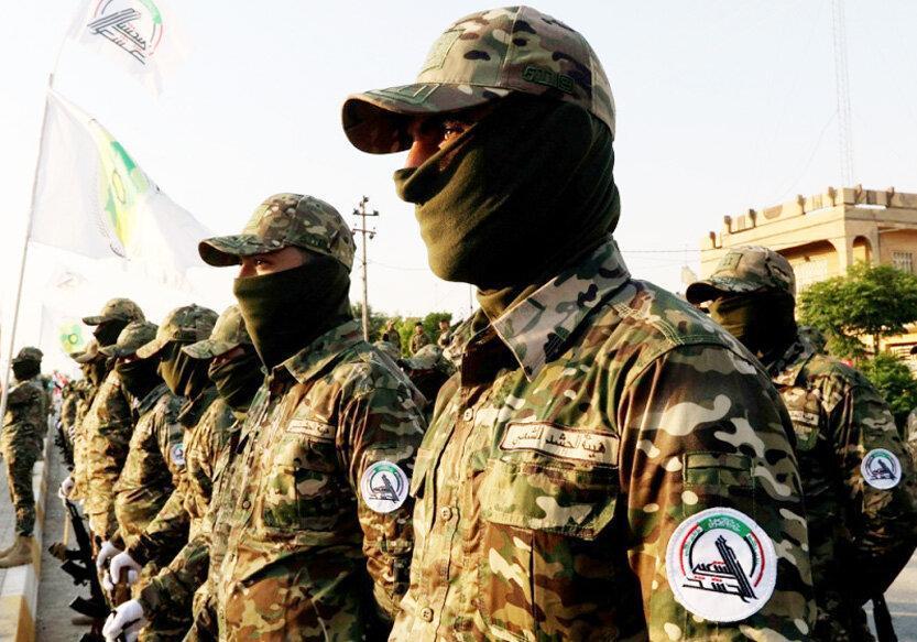 حشدالشعبی: پاسخ دولت عراق متناسب با تجاوز آمریکا باشد