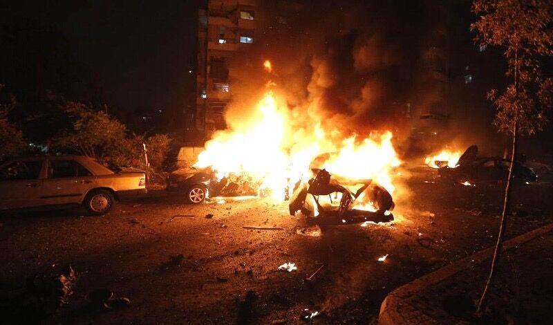 خبرنگاران انفجار خودروی بمب گذاری شده در بغداد