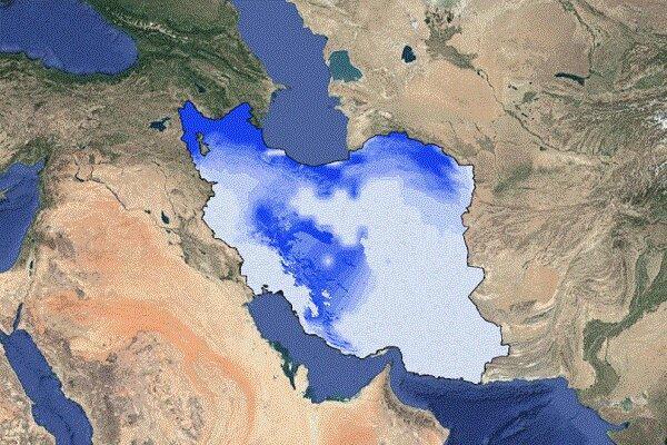 نقشه ماهواره ای رطوبت خاک در ایران منتشر شد