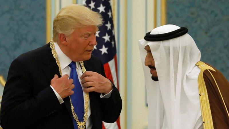 خبرنگاران نگرانی ترامپ و ملک سلمان در مورد بازار جهانی نفت