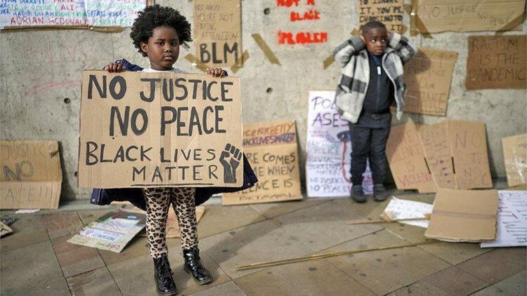 تصاویر ، اعتراض جهانی علیه نژادپرستی و خشونت پلیس
