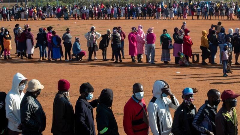 خبرنگاران شمار مبتلایان به کرونا در آفریقا از یک میلیون تن گذشت