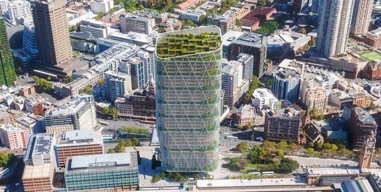ساخت بلندترین برج چوبی فلزی جهان در استرالیا
