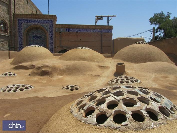 انتها بازسازی و ساماندهی حمام تاریخی چهارسوق شاهرود