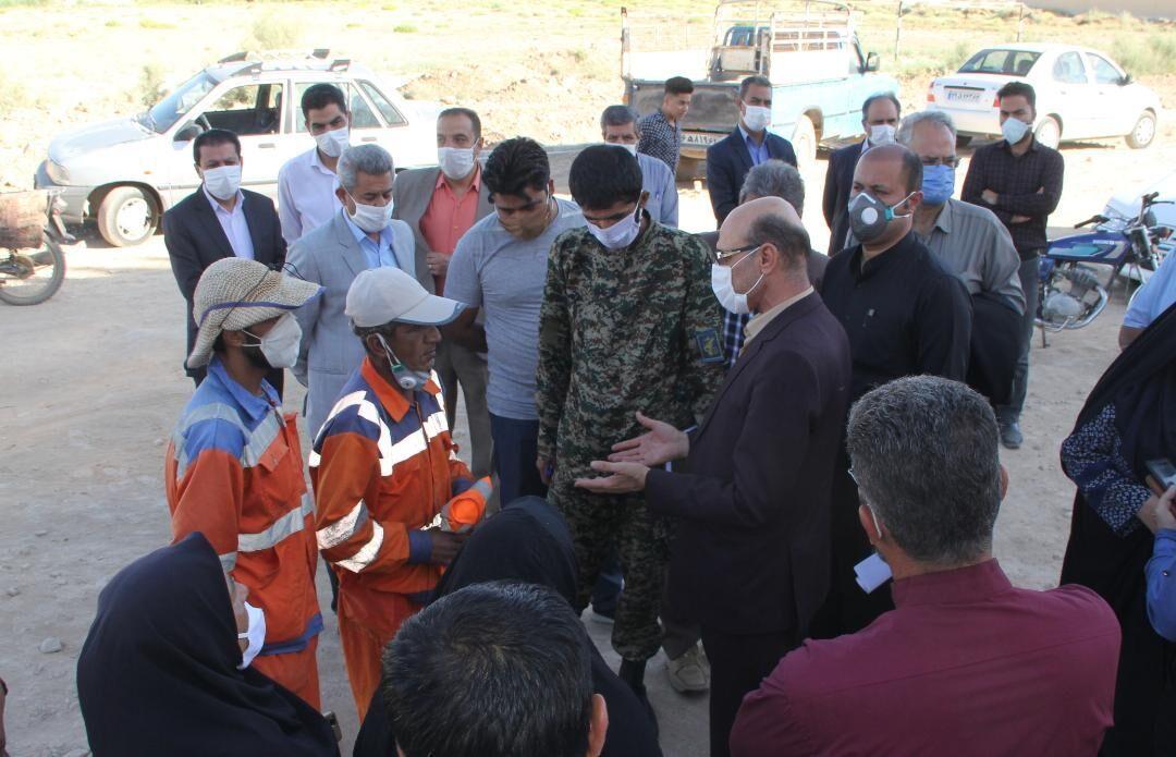 خبرنگاران آنالیز مشکل آب آشامیدنی اهالی روستای گردخون شیراز