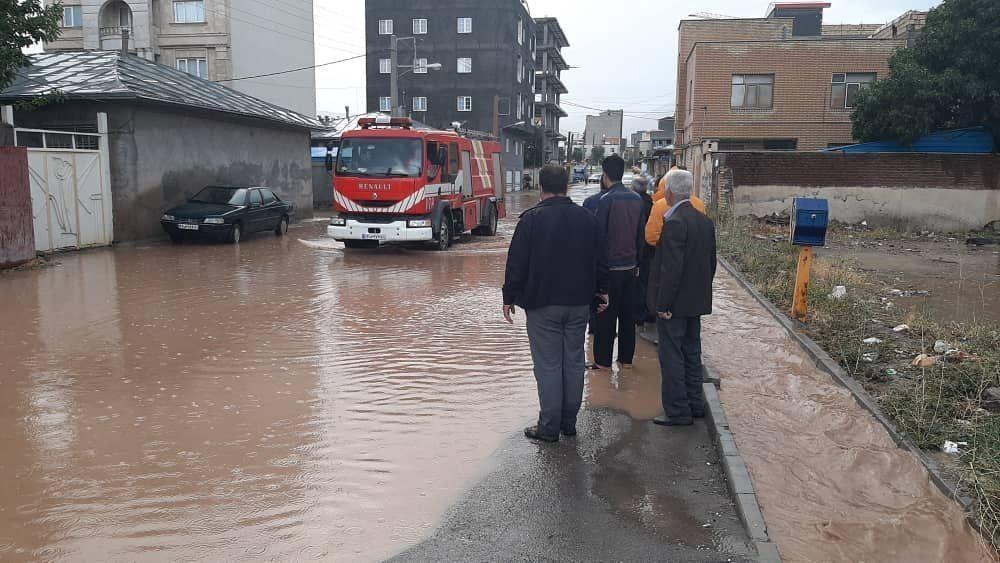 خبرنگاران کاهش دما و باران هوای اردبیل را پاییزی کرد