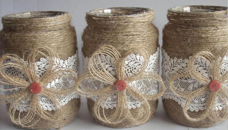 ایده های جذاب و خلاقانه برای ساخت وسایل تزئینی با مواد دور ریختنی