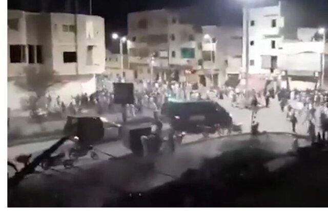 درگیری شدید میان تظاهرکنندگان و نیروهای امنیتی در الاقصر مصر