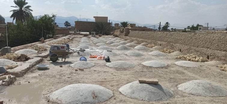 بازسازی کاروانسرای نو در شهرستان لار اجرایی شد
