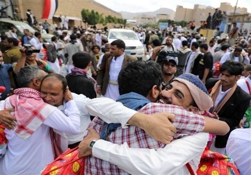 بازگشت صدها اسیر یمنی به صنعاء