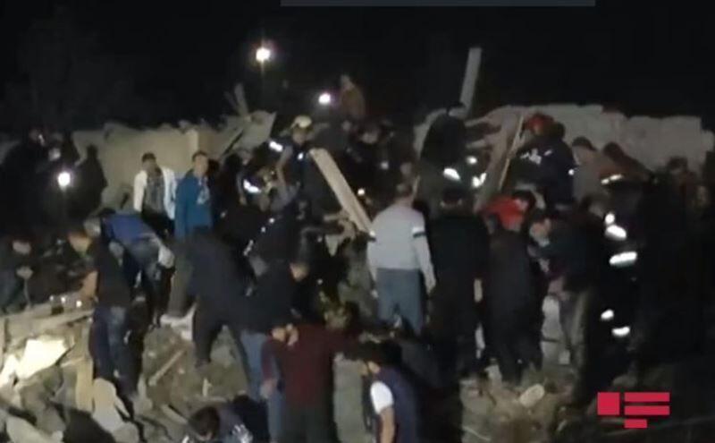 خبرنگاران باکو : دو شهر آذربایجان مورد حمله موشکی نهاده شد