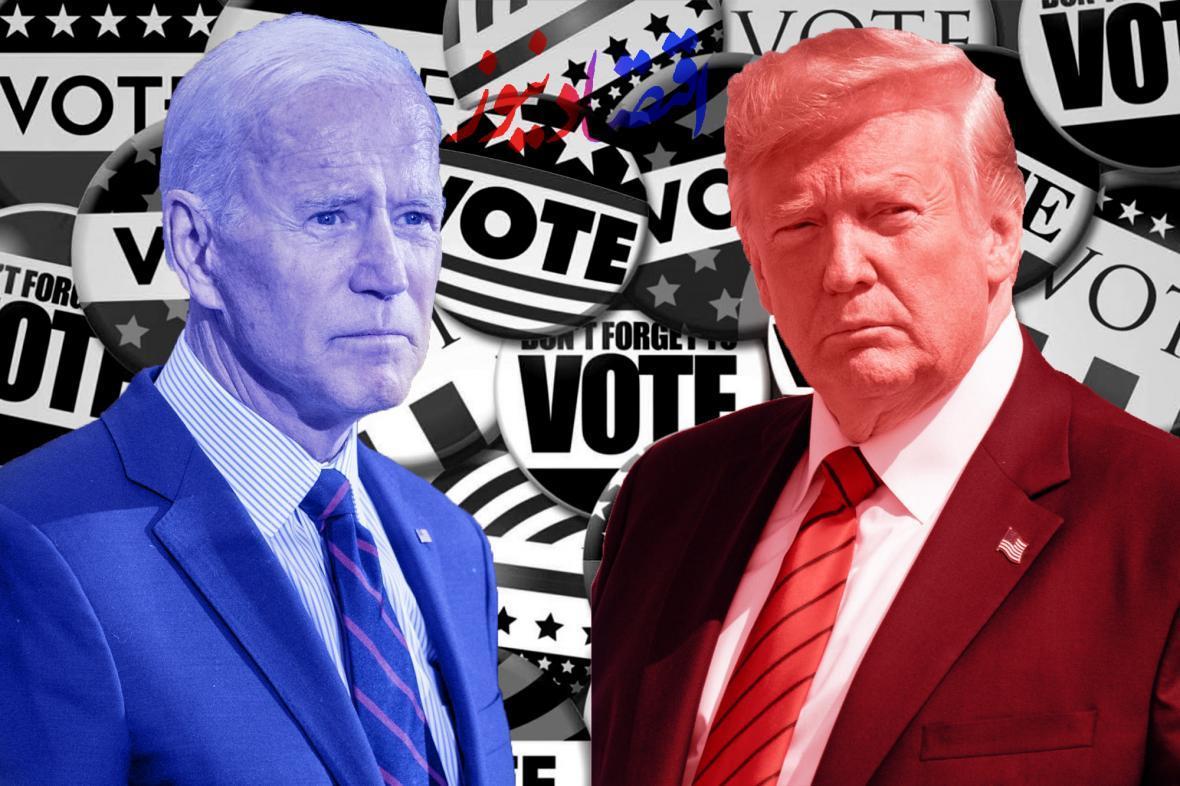 پیشتازی بایدن نسبت به ترامپ در ایالت های مهم و کلیدی