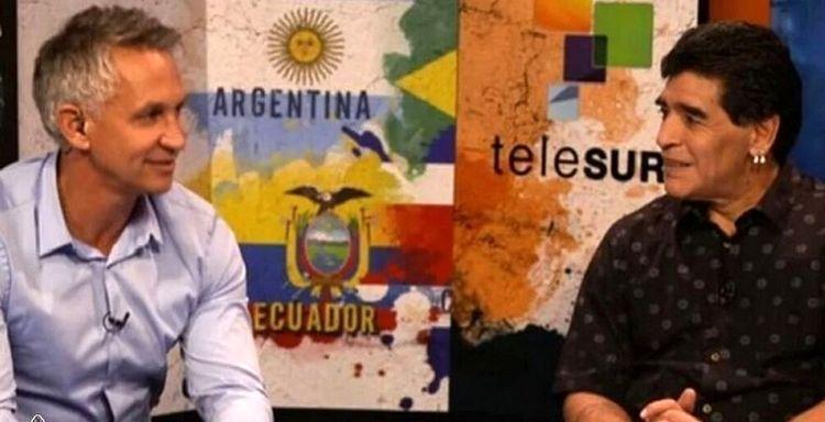 جنجال تازه با پیغام تسلیت لینکر برای مارادونا!