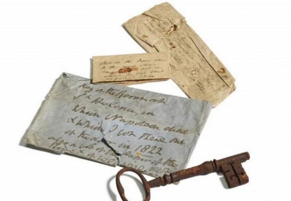 کلید اتاقی که ناپلئون در آن از جهان رفت، فروخته می گردد