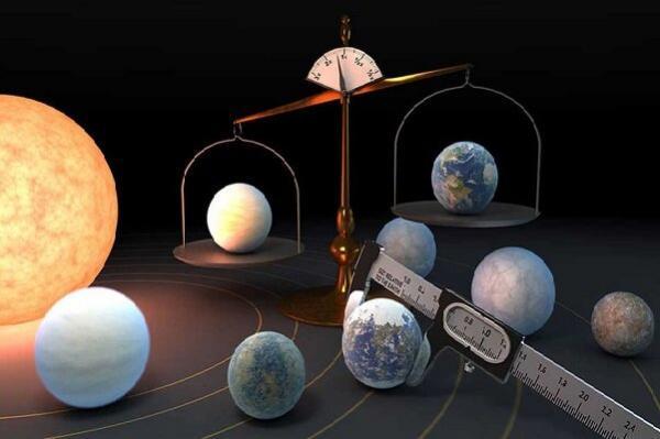 شناسایی 7 سیاره مشابه زمین در منظومه شمسی تازه کشف شده