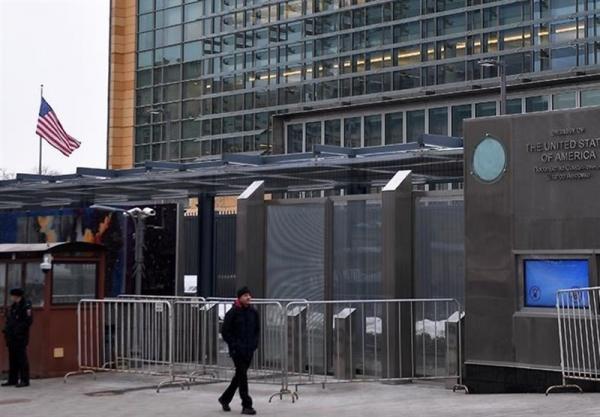 اعتراض روسیه به دخالت سفارت آمریکا در امور داخلی این کشور