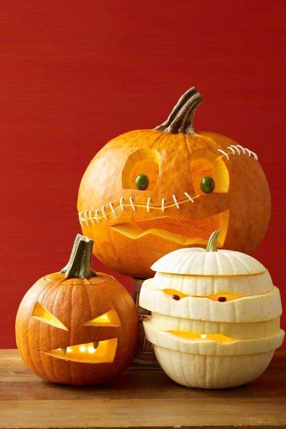 طرز تهیه کدو هالووین