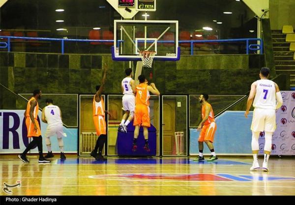 لیگ برتر بسکتبال، شکست سنگین آینده سازان مقابل شهرداری بندرعباس
