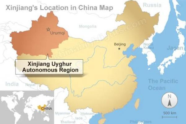 انگلیس، چین را درخصوص دسترسی به منطقه سین کیانگ به چالش می کشد