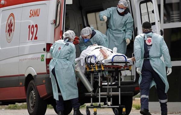 خبرنگاران مبتلایان به کرونا در برزیل از مرز 12 میلیون نفر گذشت