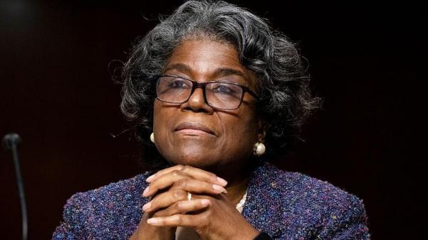 رای اعتماد کنگره به گزینه بایدن برای سازمان ملل، یک زن رنگین پوست
