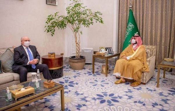 نماینده ویژه آمریکا در یمن با ولیعهد عربستان ملاقات کرد